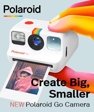 Polaroid. Create big, smaller. New polaroid go camera. Shop now.